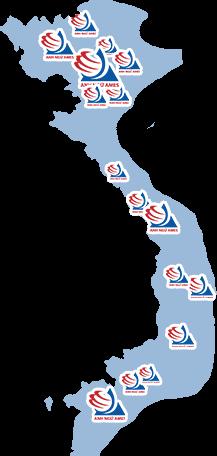hệ thống trung tâm AMES trên toàn quốc