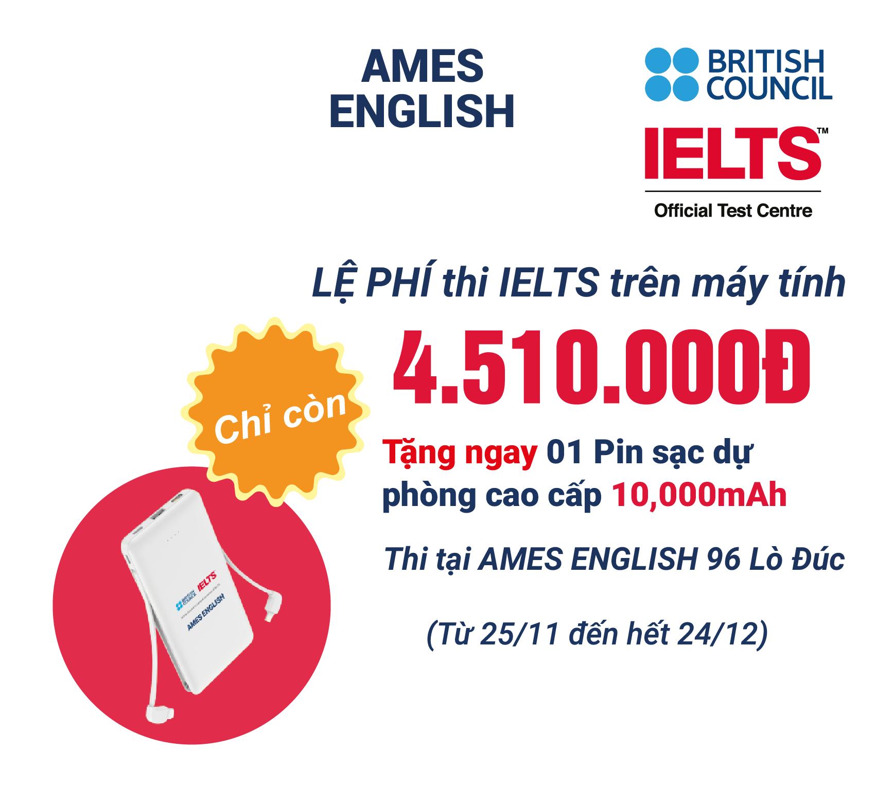 đăng ký thi IELTS online